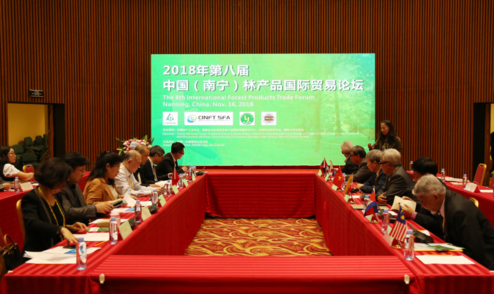 The 8th International Forest Products Trade Forum Successfully Held